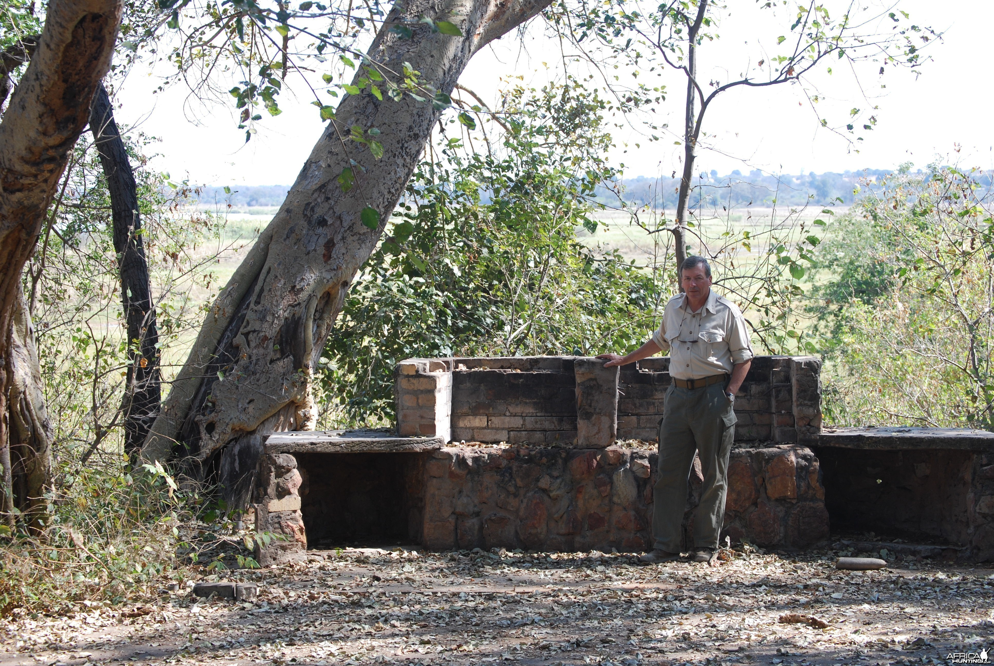 Remains of Jan Breytenbach's Quarters 32 Battalion