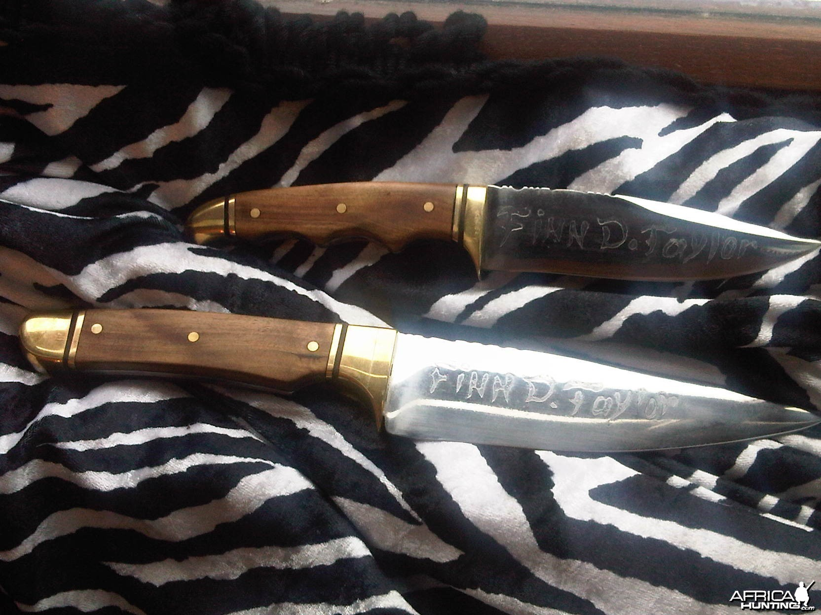 pair of knives for christmas made by miles who is on AH