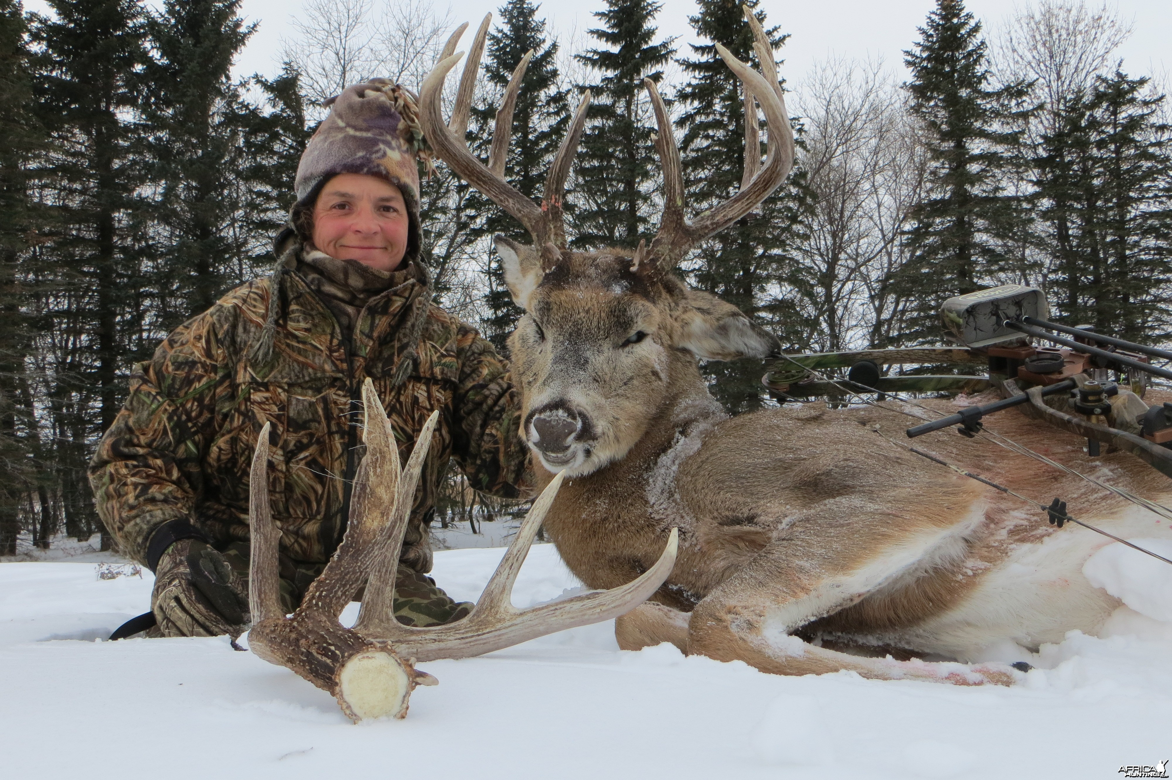 My 2013 North Dakota archery Whitetail