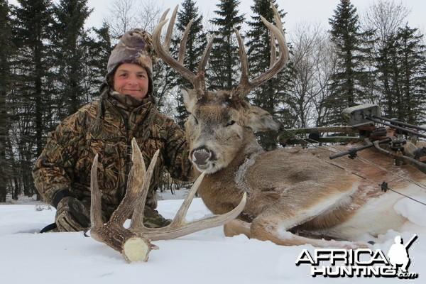 My 2013 North Dakota archery Whitetail