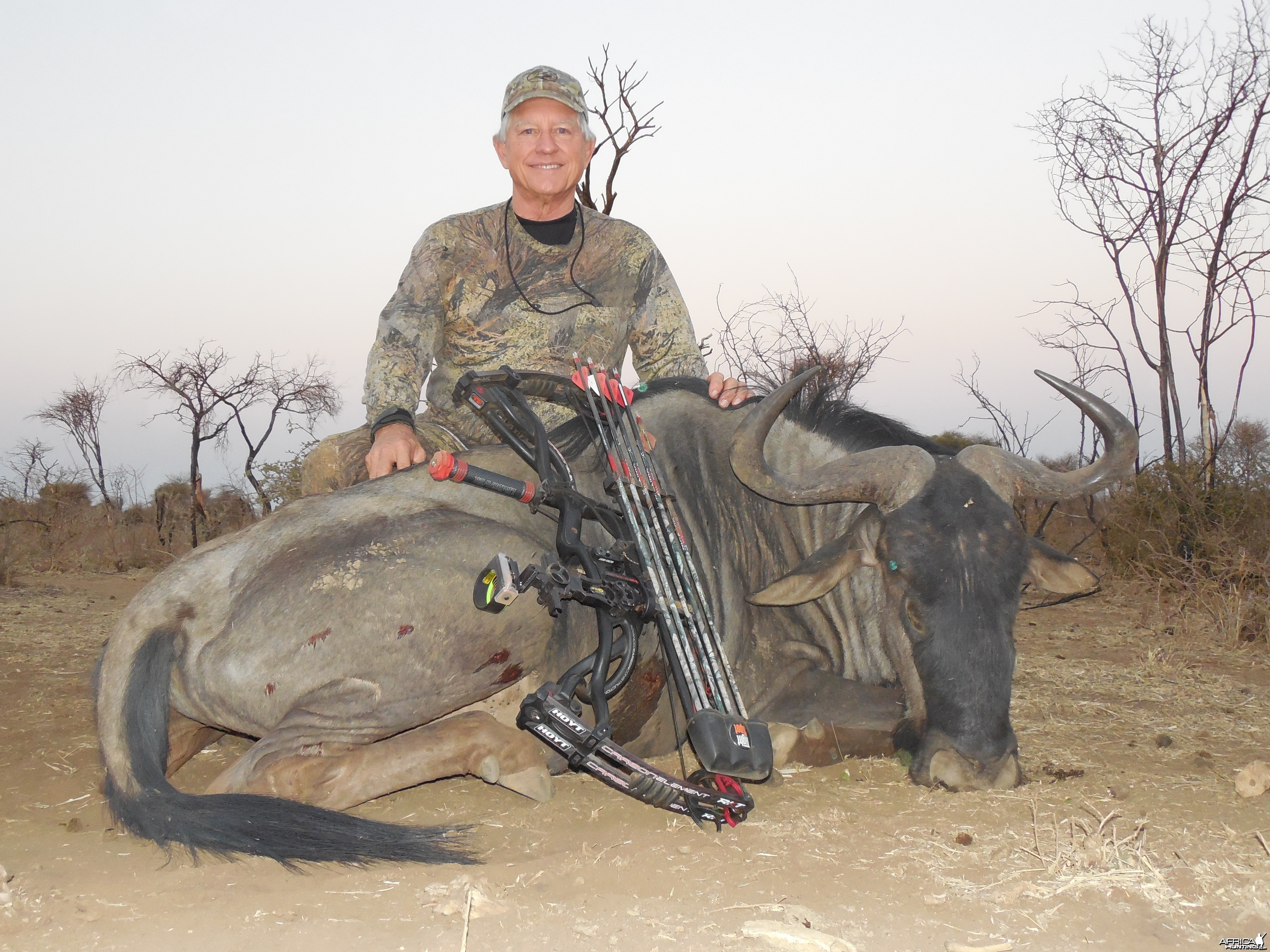 hunted with Ozondjahe Hunting Safaris in Namibia