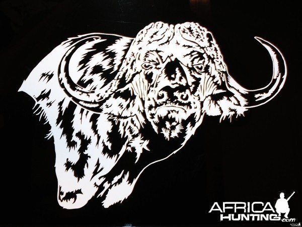 Buffalo Decal Stickers
