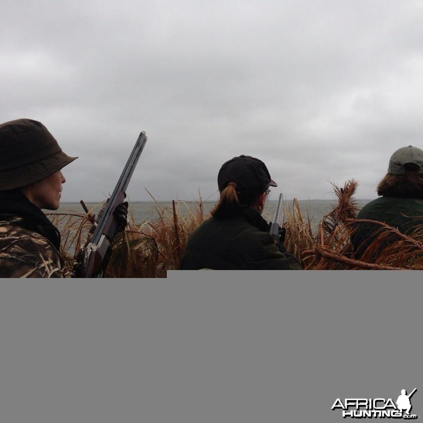 Duck Hunting in Outer Banks, North Carolina