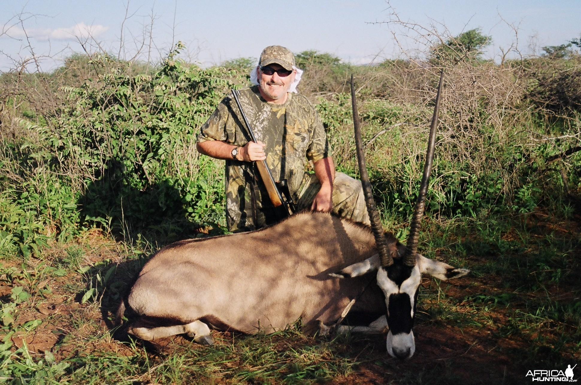 Gemsbuck Namibia/Ozondjahe Safaris