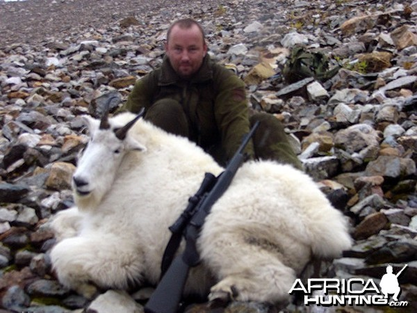 Hunting Mountain Goat Canada