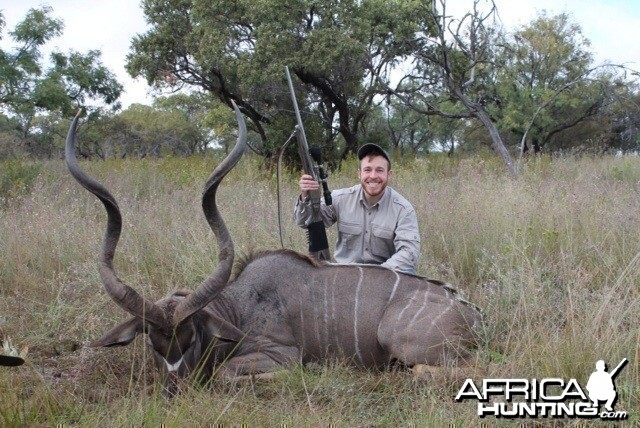 Son and his Kudu