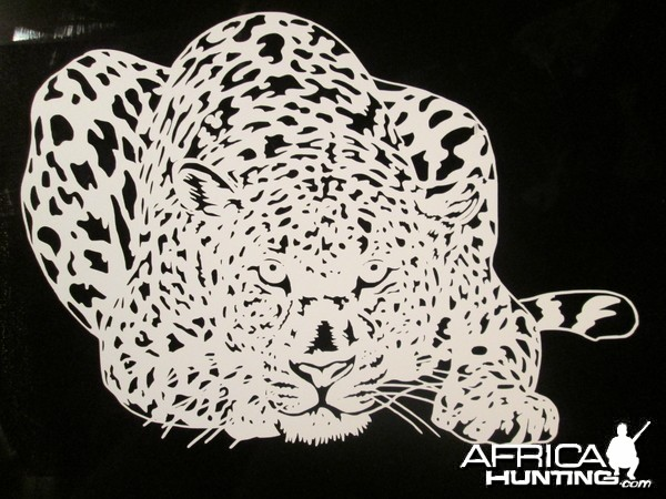 leopard Decal Stickers