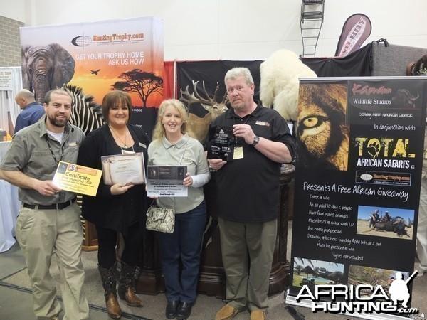 Winner of the Free African Safari Giveaway