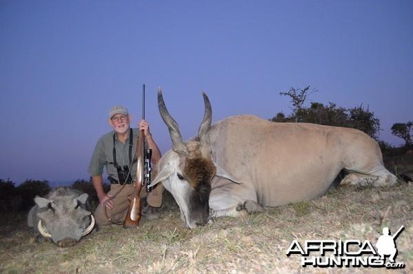 Warthog and Eland KMG Hunting Safaris