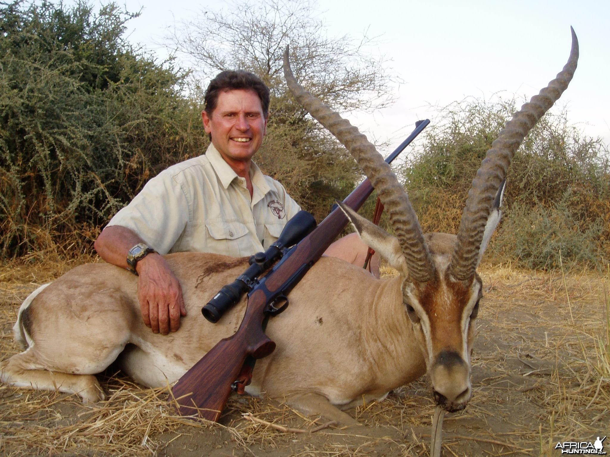 Grant Gazelle Tanzania