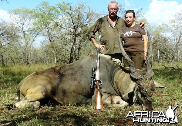 """41"""" East African Eland  from the Selous G.R."""