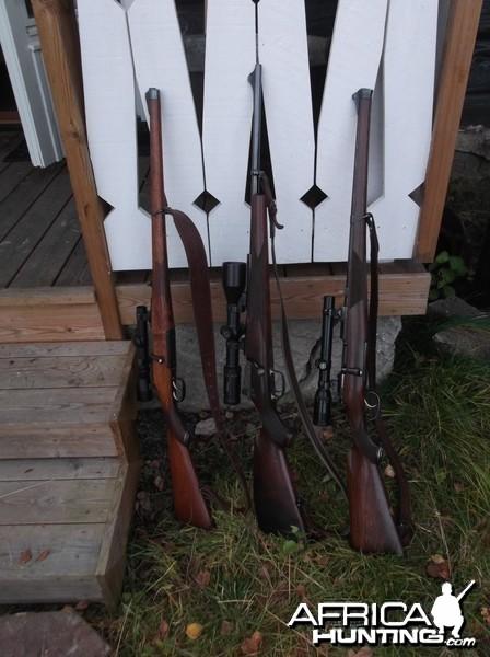 Collection of Mannlicher