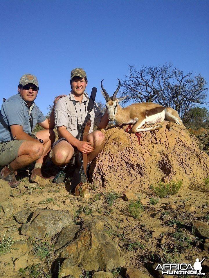 Springbok 1st South African safari