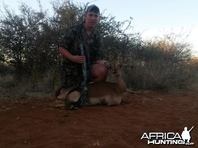 Wiehan and Impala ewe