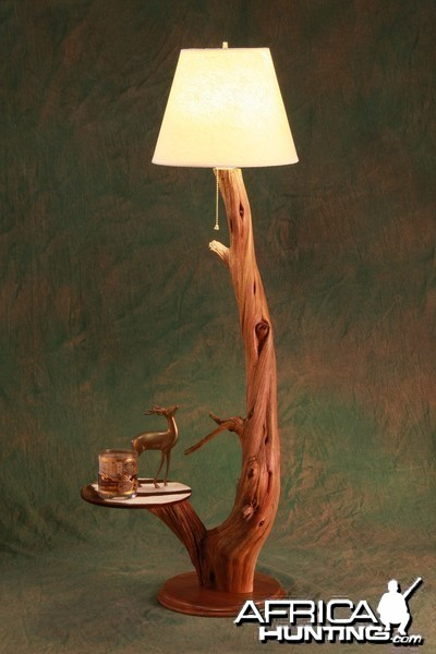 Lamp by All-American Taxidermy