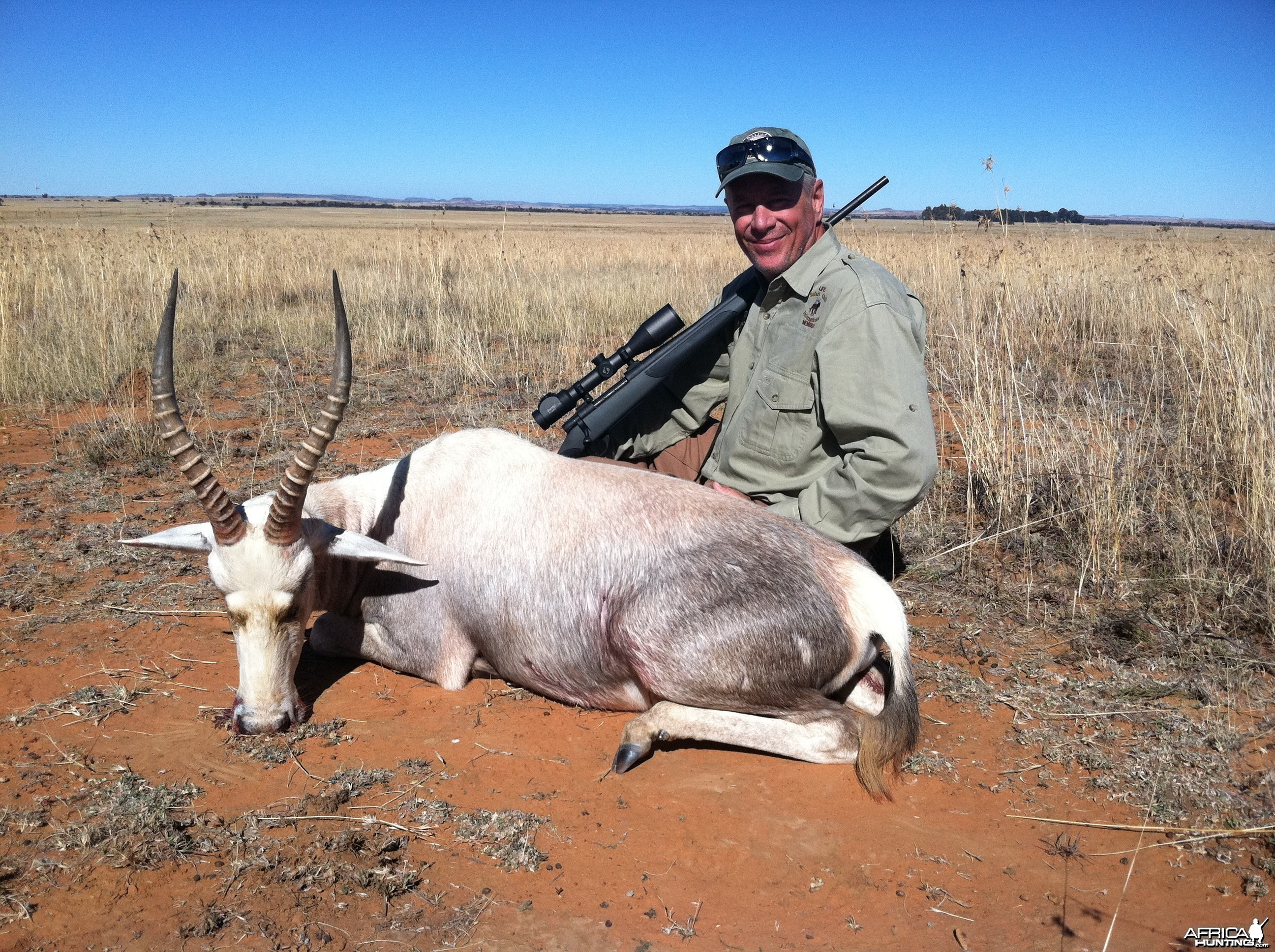 Free State White Blesbuck, June 2014