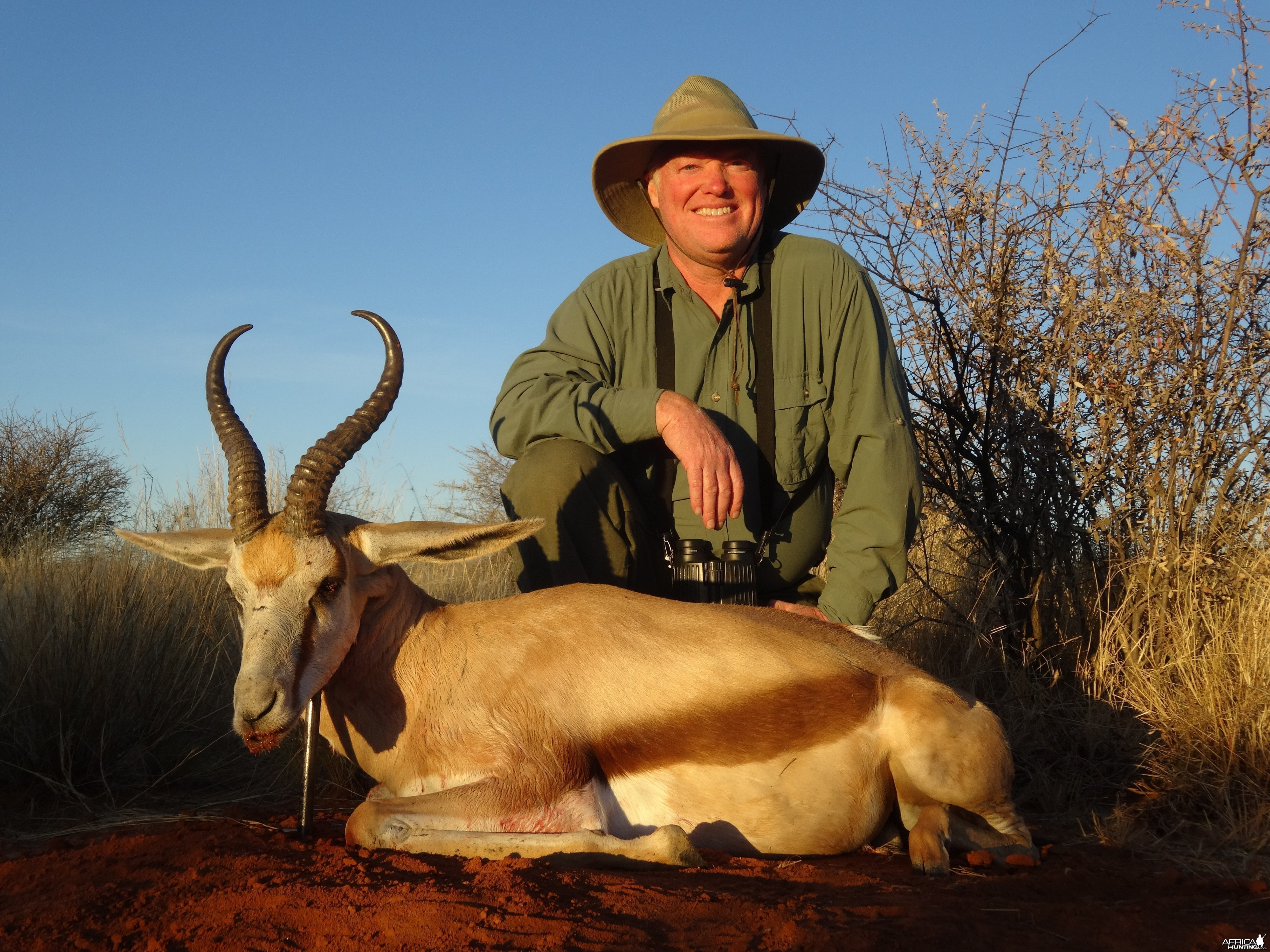 Toby and springbok