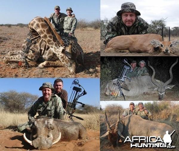 Hunting RSA 2014 with PH Izak Vos and Vos Safaris