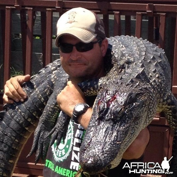 Alligator Hunt Louisiana