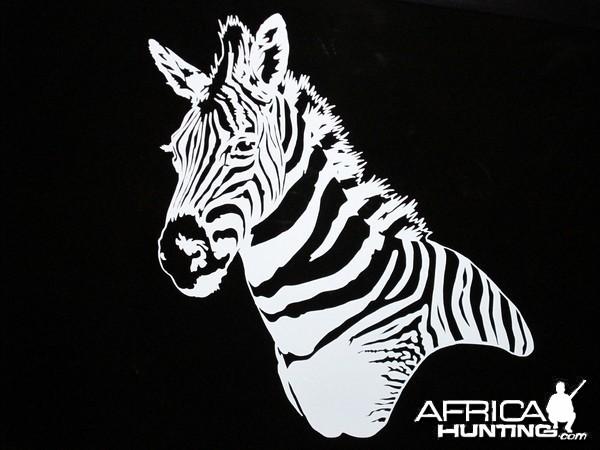 Zebra Decal Stickers