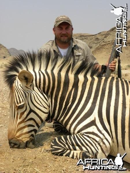 Namibia Mountian Zebra