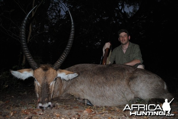 Son's monster waterbuck