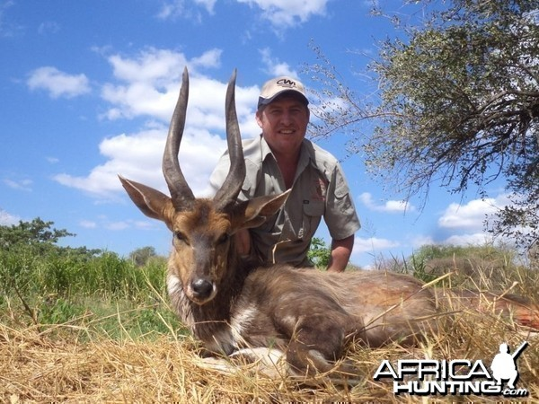 "17.5"" Bushbuck shot at King's Kloof"