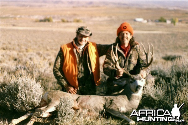 Wyoming Mule Deer with Cousin Ray