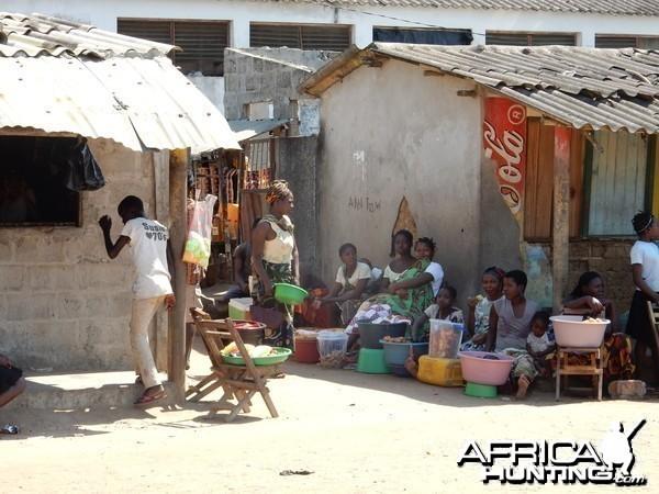 Commercial center Mozambique