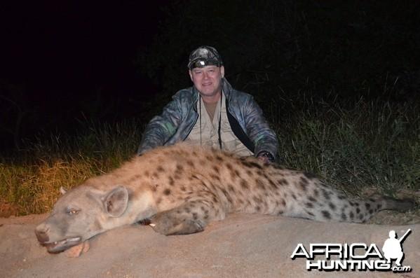 Hyena KMG Hunting Safaris