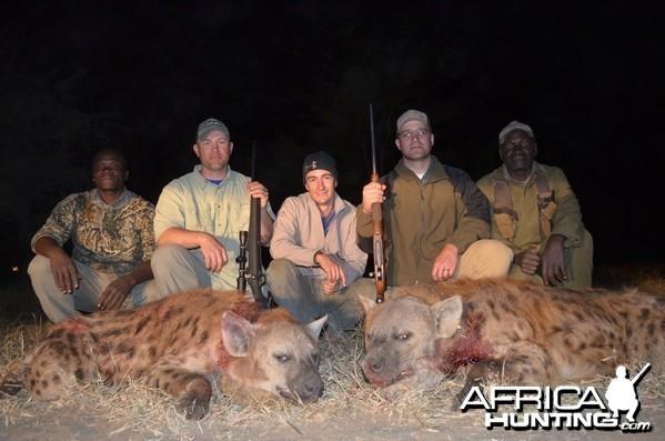 Hyena double W/ Shaun Buffee
