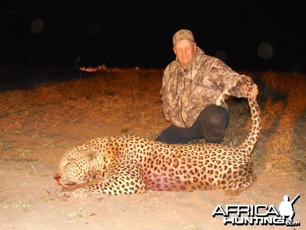 Hunting Leopard Ozondjahe Hunting Safaris in Namibia