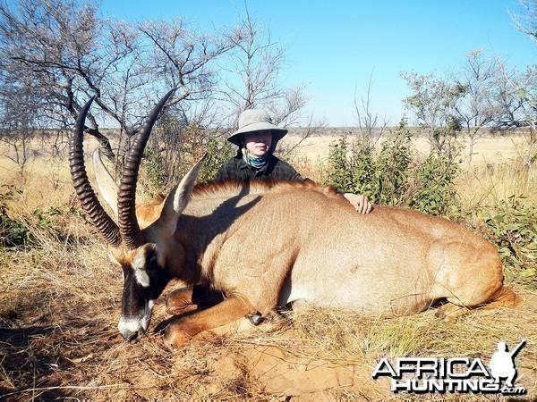Roan Namibia, July 2014
