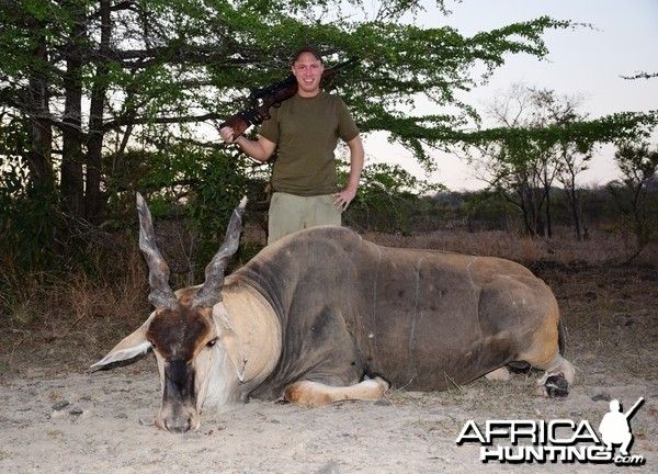 Eland Selous Game Reserve 2014