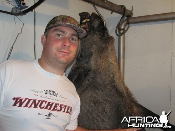 CIC Bronze medal wild boar shot in Germany