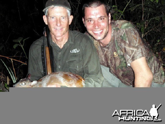 Royal Antelope Hunted in Ghana
