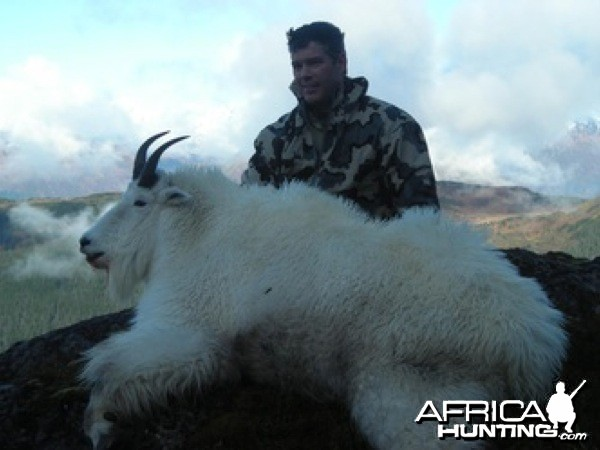 Hunting Mountain Goat in Alaska