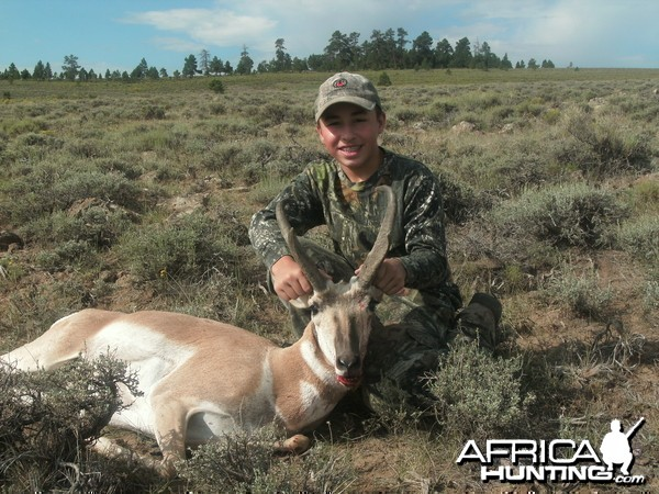 First speedgoat taken with his muzzleloader