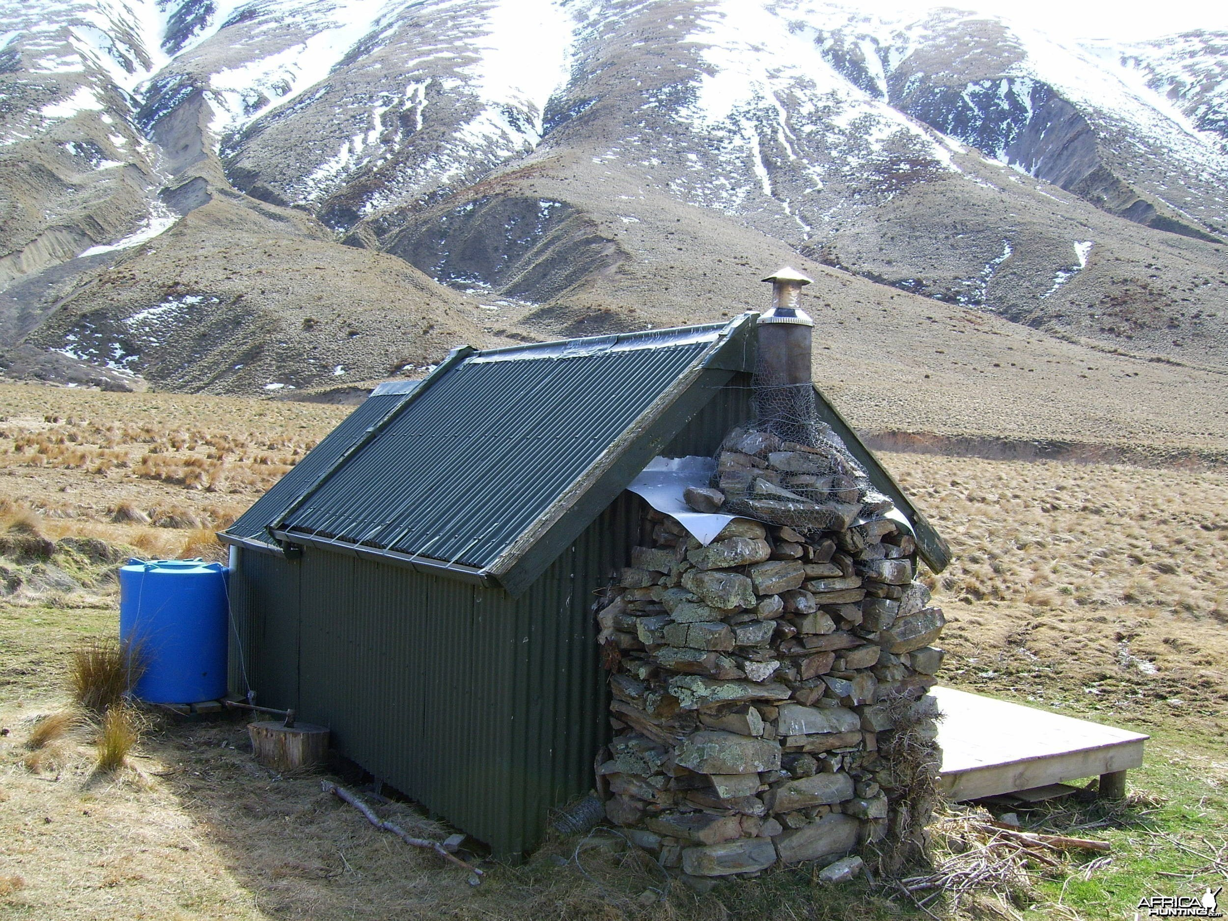 Public land hut - Thar and Chamois hunting area