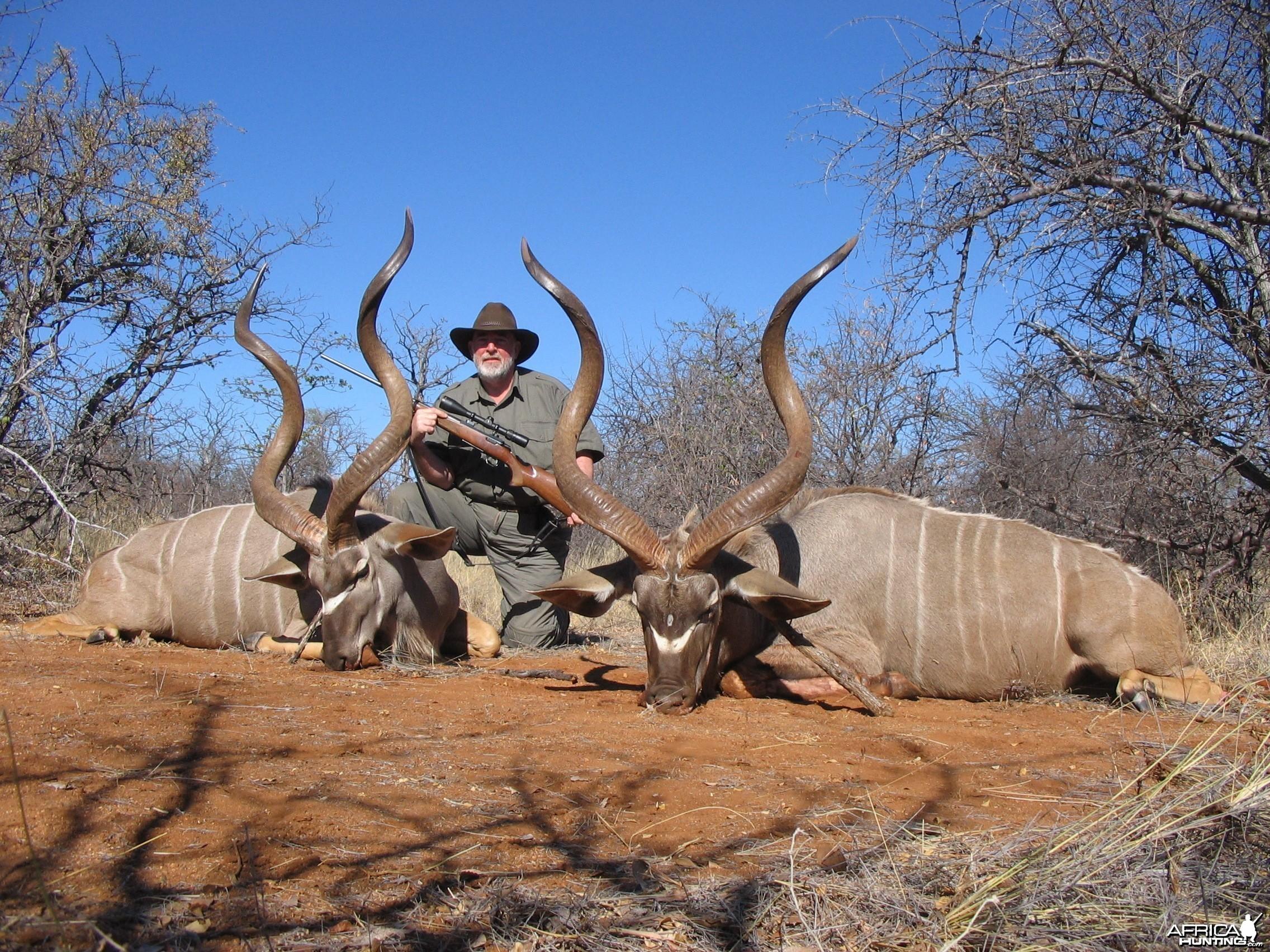 """56"""" & 50"""" Kudu double"""