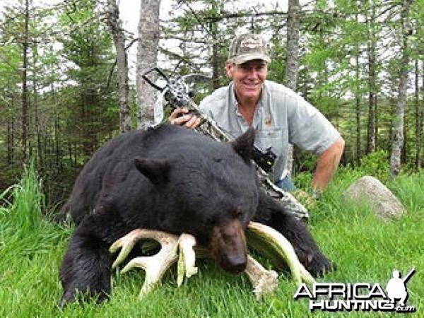 Hunting Black Bear in New Brunswick Canada
