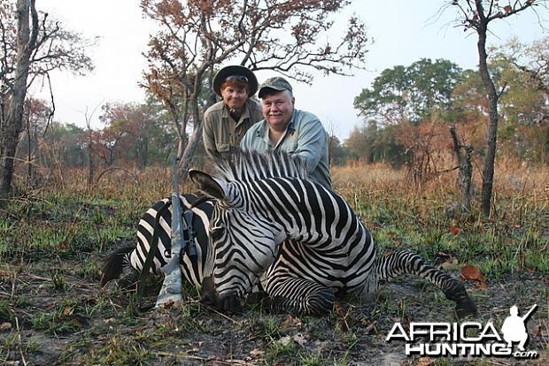 Zebra Hunting in Tanzania
