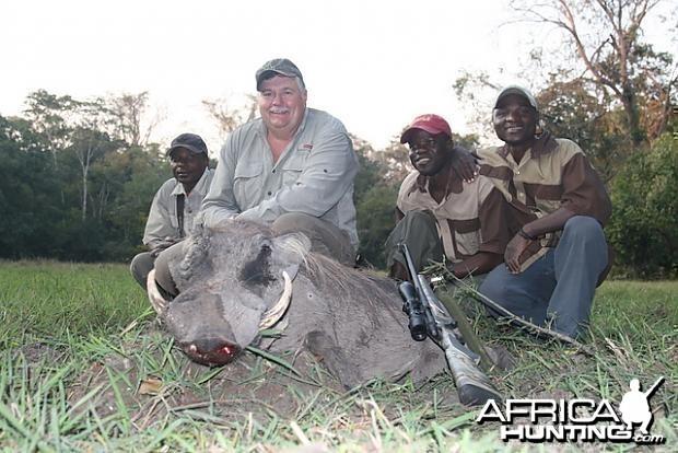 Warthog Hunting in Tanzania