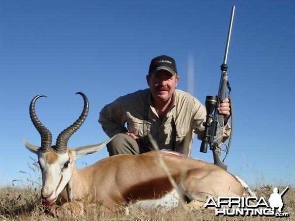 Namibia Springbok