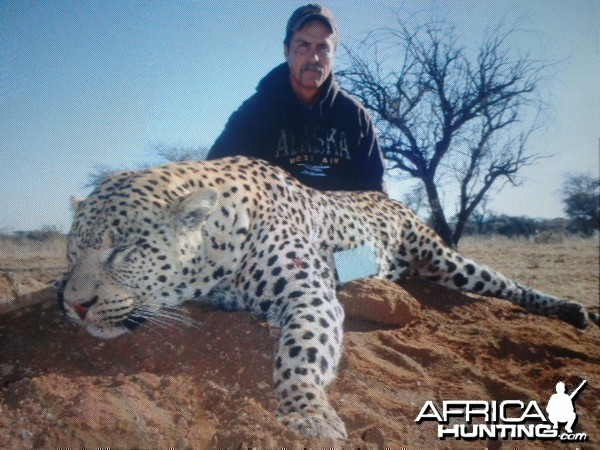 Hunting Leopard Westfalen Hunting Safaris in Namibia