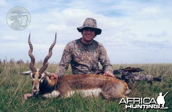 Argentina - La Pampa - Blackbuck at Poitahue Hunting Ranch