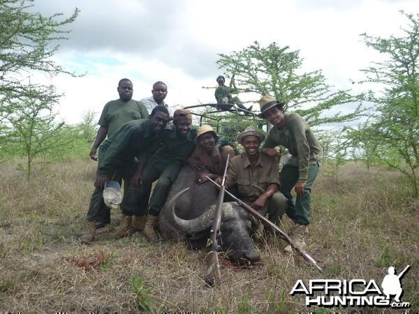MWEKA ON FIELD FOR HUNTING