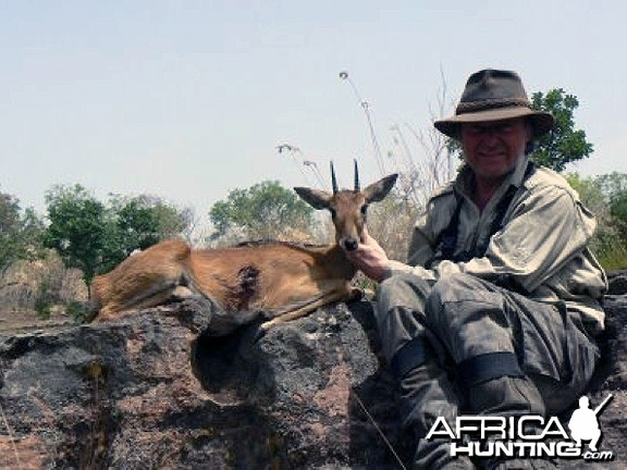 Hunting Oribi Central Africa