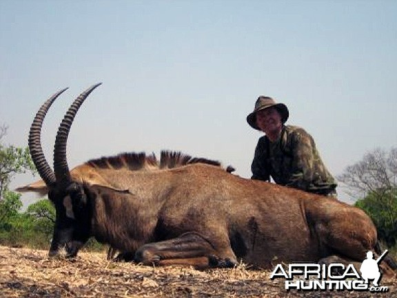Hunting Roan Antelope in CAR