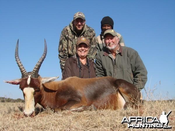Sandy's Blesbok - Lategan Safaris